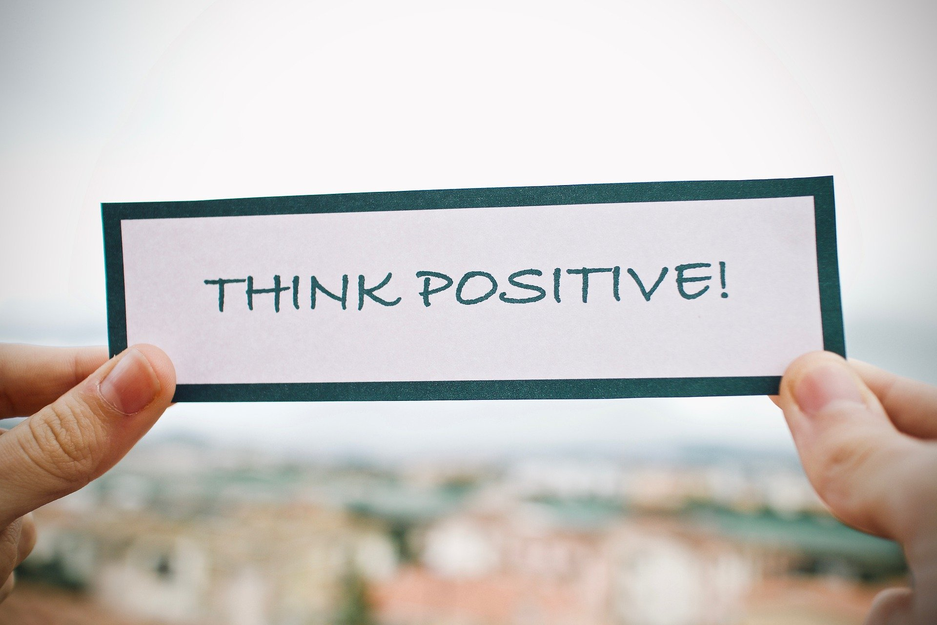 Positive thinking during coronavirus