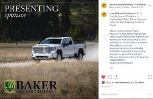 Baker Motor company Steeplechase Social Content
