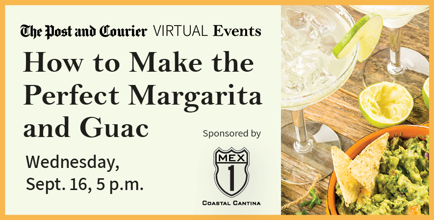 Post and Courier Virtual Events How to Make the Perfect Margarita